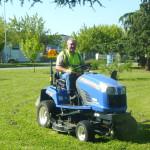 Entretien des espaces verts privés et communs