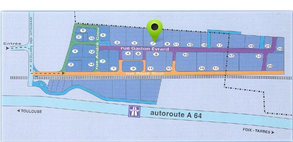 plan d'accès Anconetti