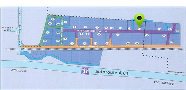 plan d'accès Ceicom