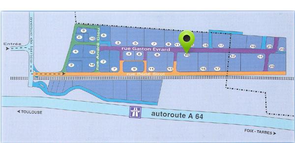 plan d'accès Concept Toulouse