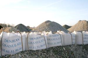 DENJEAN GRANULATS - Vente de sable et graviers